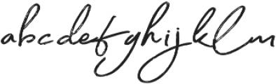 Gallantry otf (400) Font LOWERCASE