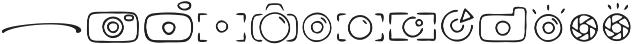 Gallatone Bonus ttf (400) Font LOWERCASE