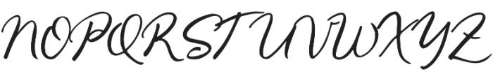 Gallendo otf (400) Font UPPERCASE
