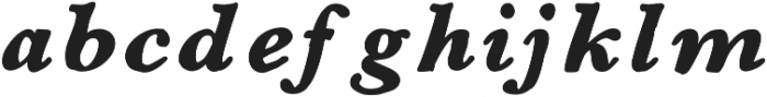 Galley otf (400) Font LOWERCASE