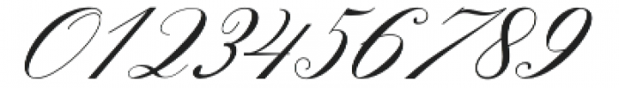 Gallisia Script Regular otf (400) Font OTHER CHARS