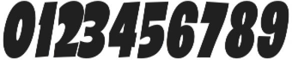 Galpon Black Condensed Italic otf (900) Font OTHER CHARS