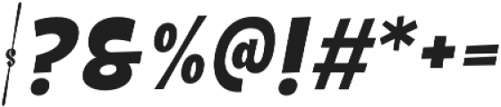 Galpon Normal Italic otf (400) Font OTHER CHARS