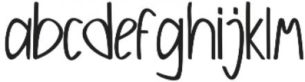 Galunggung otf (400) Font LOWERCASE