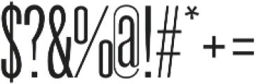 Galvin Light otf (300) Font OTHER CHARS