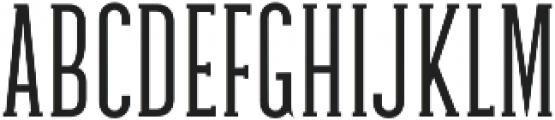 Galvin Light otf (300) Font UPPERCASE