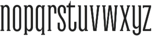 Galvin Light otf (300) Font LOWERCASE