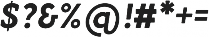 Gambero otf (700) Font OTHER CHARS