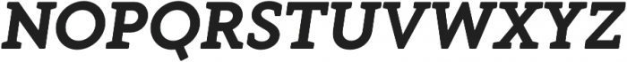 Gambero otf (700) Font UPPERCASE