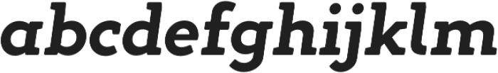 Gambero otf (700) Font LOWERCASE
