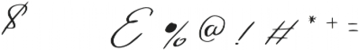 Gamodora otf (400) Font OTHER CHARS
