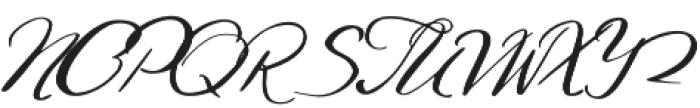 Gamodora otf (400) Font UPPERCASE