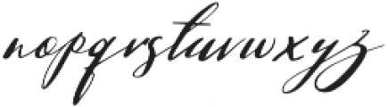 Gamodora otf (400) Font LOWERCASE