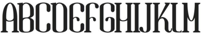 Gandula Regular otf (400) Font UPPERCASE