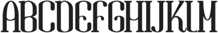 Gandula Regular ttf (400) Font UPPERCASE