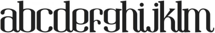 Gandula Regular ttf (400) Font LOWERCASE