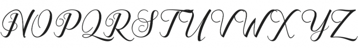 Ganesha Script Regular otf (400) Font UPPERCASE