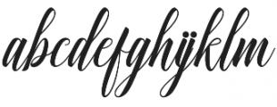 Ganesha Script Regular otf (400) Font LOWERCASE