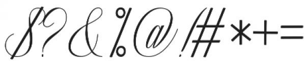 Ganitalia otf (400) Font OTHER CHARS