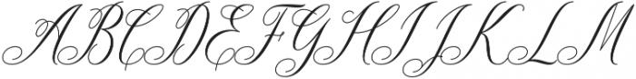 Ganitalia otf (400) Font UPPERCASE