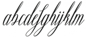 Ganitalia otf (400) Font LOWERCASE