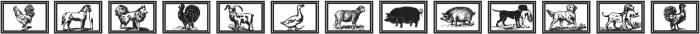 GansAnimals Regular ttf (400) Font LOWERCASE
