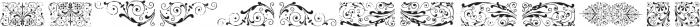 GansNeoclassicFleurons Regular ttf (400) Font UPPERCASE