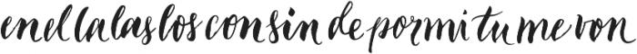 Garden Catchwords otf (400) Font LOWERCASE