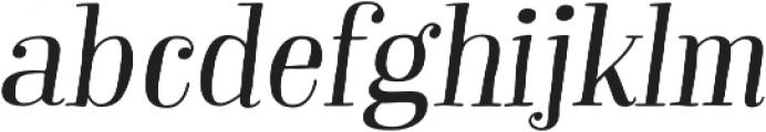 Garden Swash Alt Italic otf (400) Font LOWERCASE