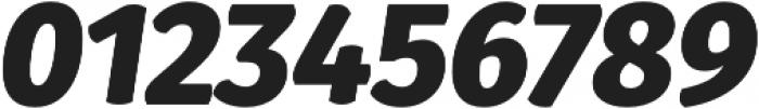 Gardenia Black Italic otf (900) Font OTHER CHARS