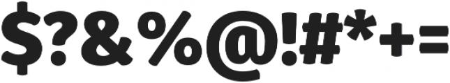 Gardenia Black otf (900) Font OTHER CHARS