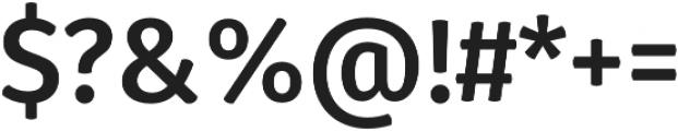 Gardenia Bold otf (700) Font OTHER CHARS