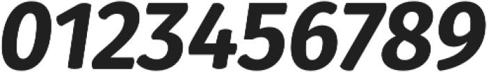 Gardenia ExtraBold Italic otf (700) Font OTHER CHARS
