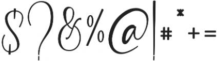 Garlando otf (400) Font OTHER CHARS
