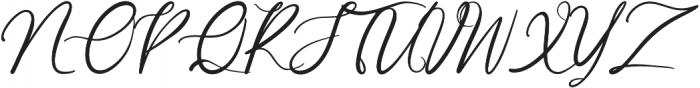 Garlando otf (400) Font UPPERCASE