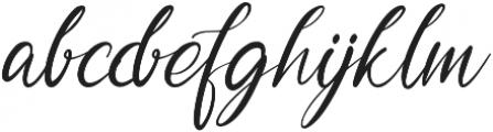 Garlando otf (400) Font LOWERCASE
