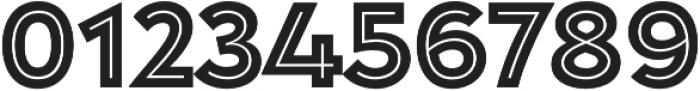 Garnet Capitals Inline otf (400) Font OTHER CHARS