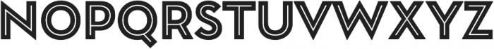 Garnet Capitals Inline otf (400) Font UPPERCASE