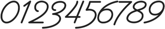 Garris otf (400) Font OTHER CHARS