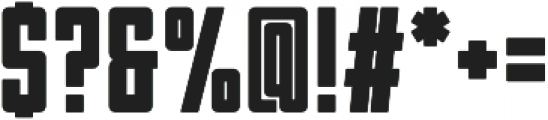 Garthram_Display otf (400) Font OTHER CHARS