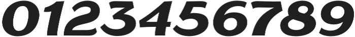 Gaslight Black Italic otf (300) Font OTHER CHARS