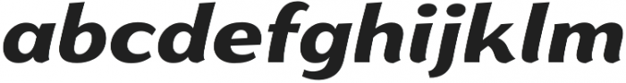 Gaslight Black Italic otf (300) Font LOWERCASE