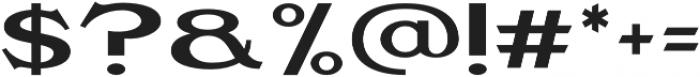 Gasoline Regular otf (400) Font OTHER CHARS