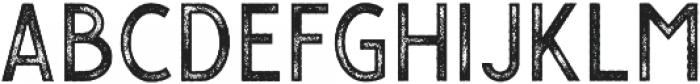Gasolyn Stamp otf (400) Font LOWERCASE