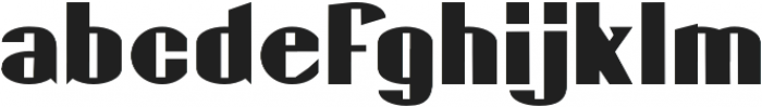 Gaspardo Expanded otf (400) Font LOWERCASE