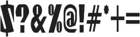 Gaspardo Super Condensed otf (400) Font OTHER CHARS