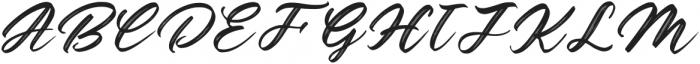 Gathering otf (400) Font UPPERCASE
