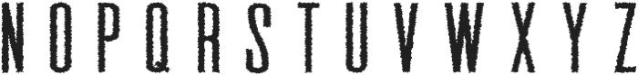 Gatsby Distorted otf (400) Font UPPERCASE