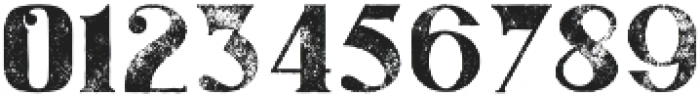 Gatsby Grunge otf (400) Font OTHER CHARS