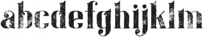 Gatsby Grunge otf (400) Font LOWERCASE